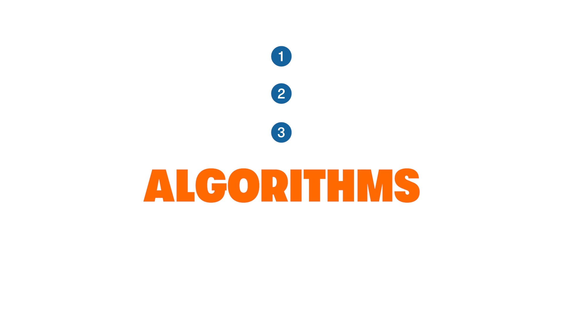 Get in the Game: Algorithms