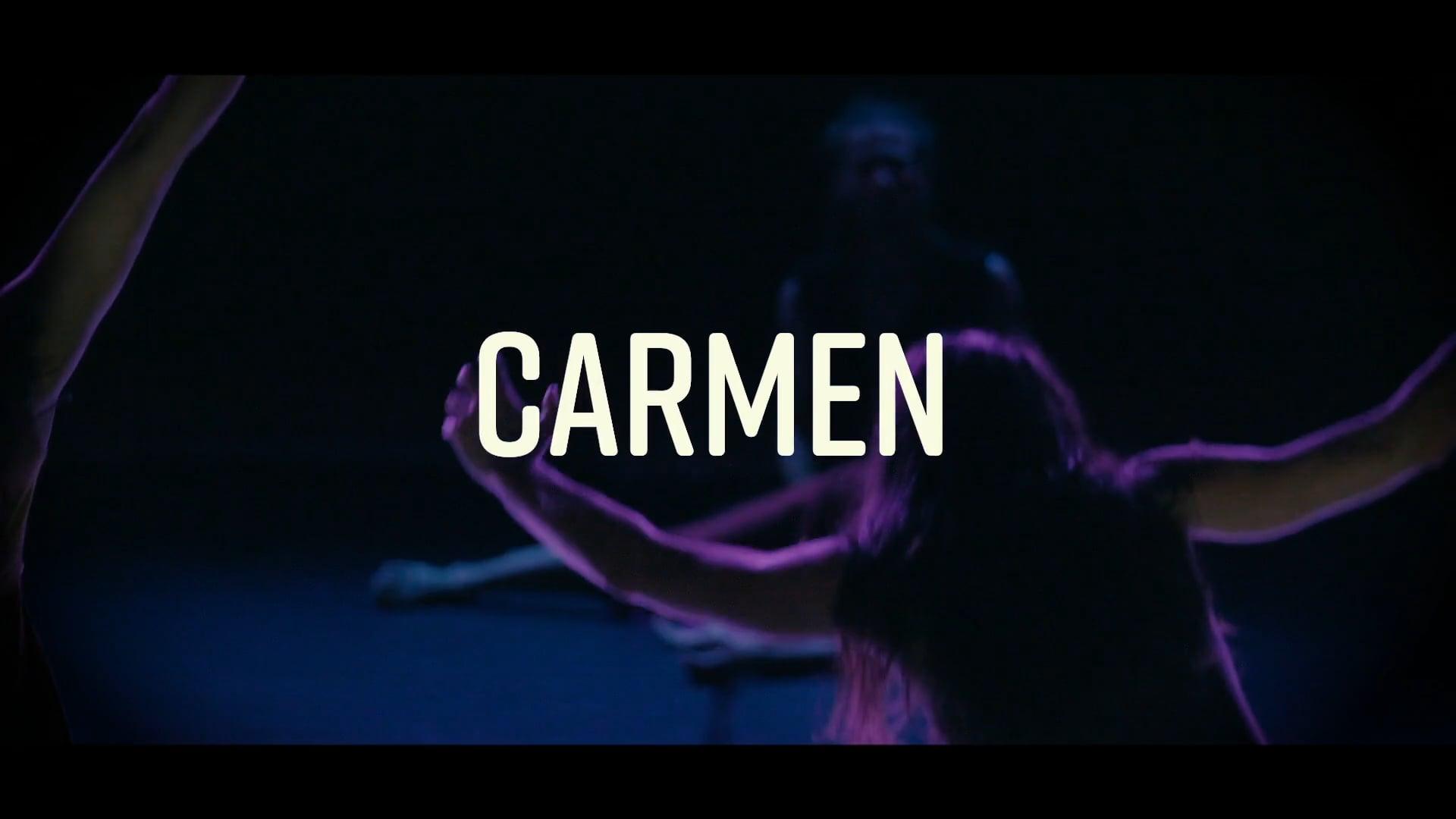CARMEN (OFFICIAL TRAILER) by Jose Agudo   Agudo Dance Company.