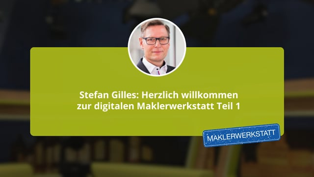 Stefan Gilles: Begrüßung Tag 1