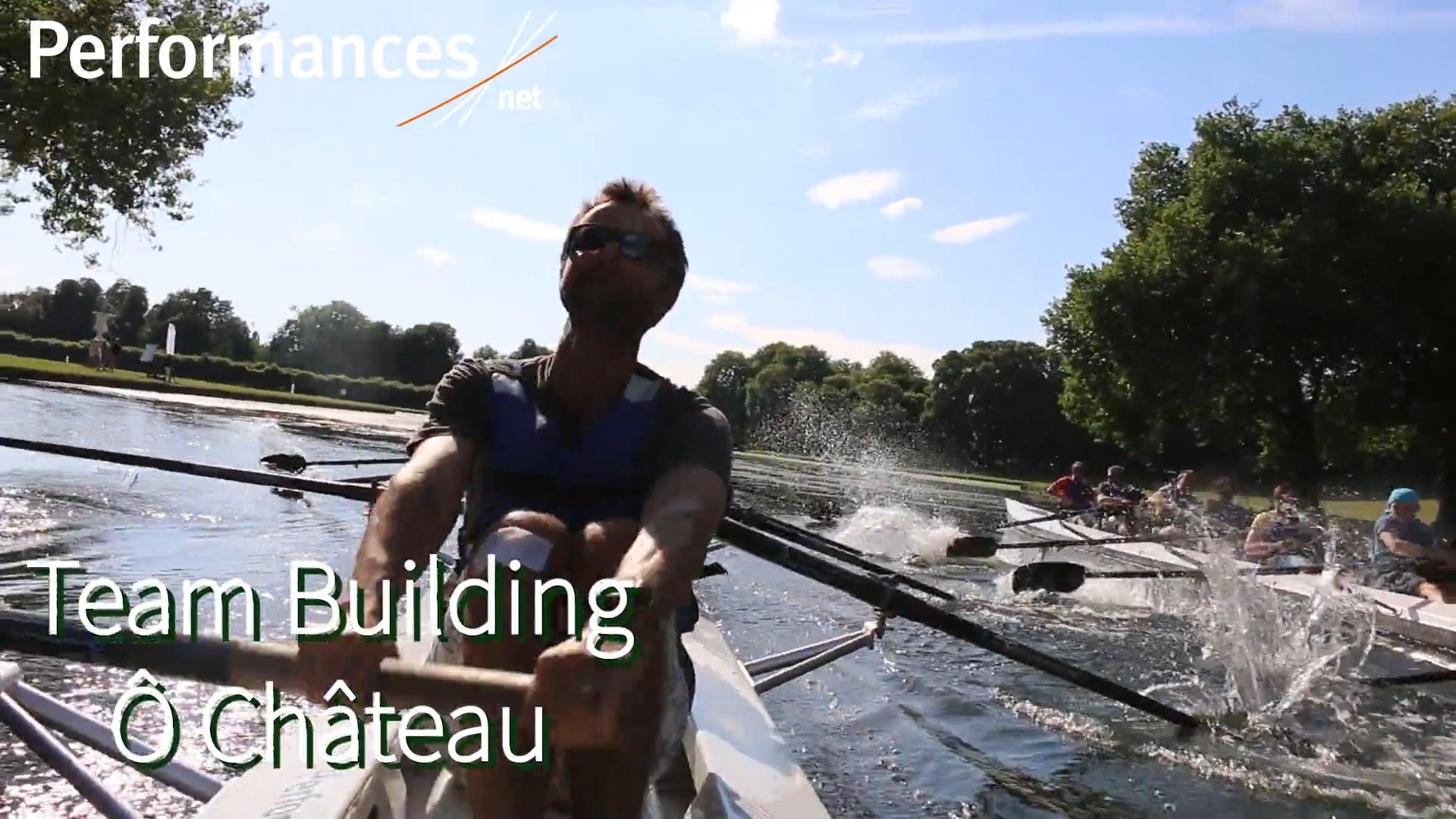 Team building aviron Ile de France