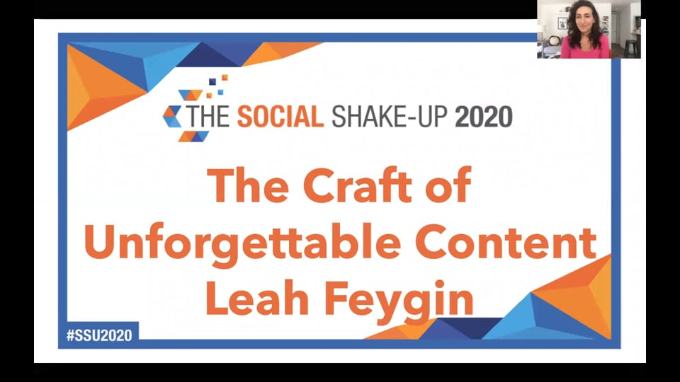 Opening Keynote With Twitter's Leah Feygin: Make Your Content Unforgettable