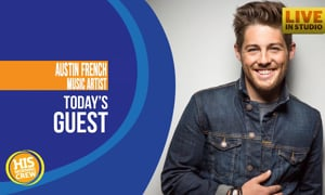 Austin French stopped by HIS Radio this morning!