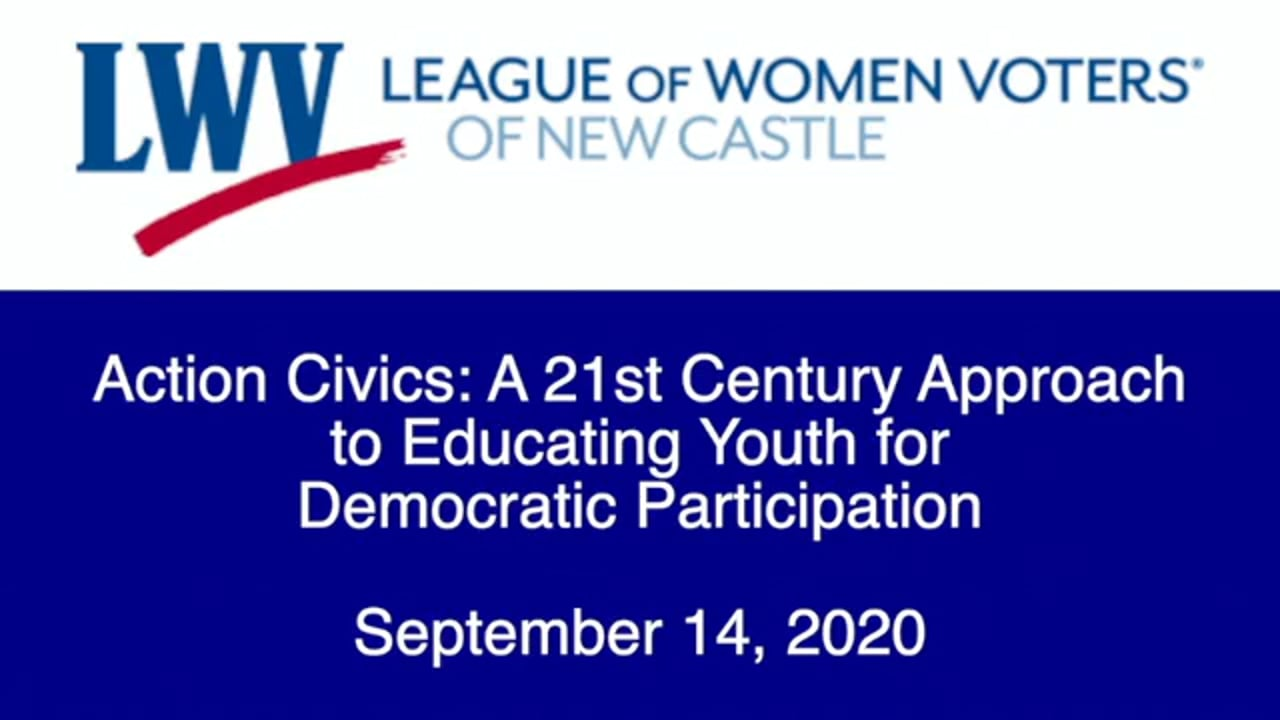 Action Civics: A 21st Century Approach to Educating Youth for Democratic Participation