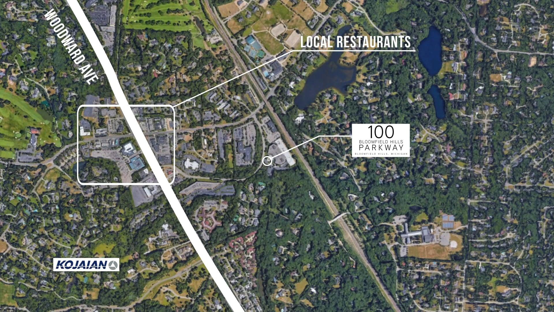 100 Bloomfield Hills Parkway