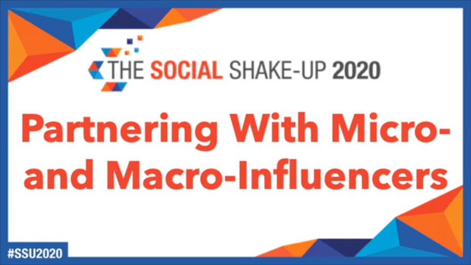 Panel: How to Partner With Micro & Macro-Influencers