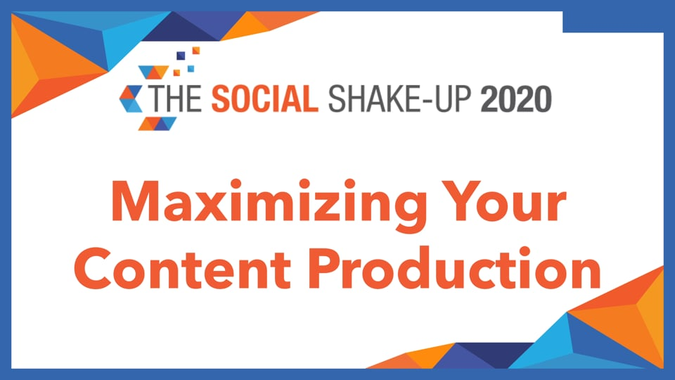 Maximizing Your Content Production