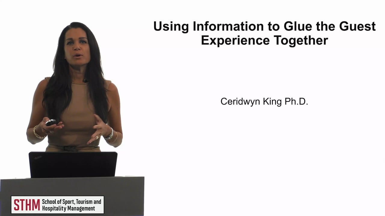 61856Using Information to Glue the Guest Experience Together