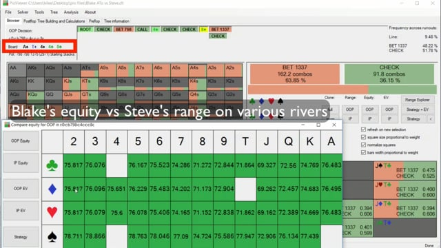 #29: Playing the river as the preflop caller