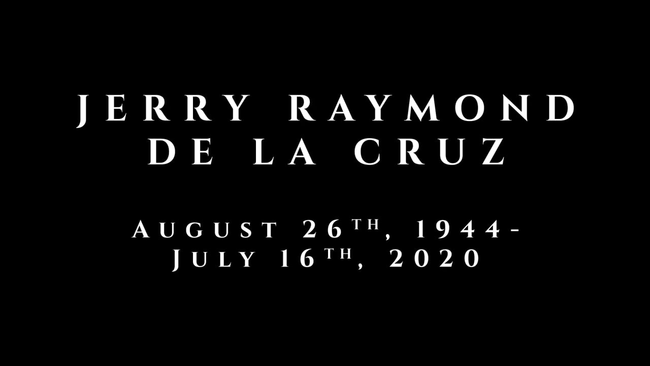 Jerry Raymond De La Cruz Memorial with Military Honors at Riverside National Cemetery