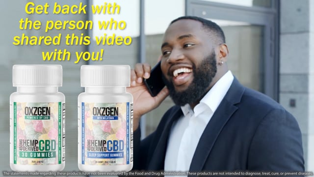 3685OXZGEN Helps to Relieve Pain Fast with the Power of CBD!