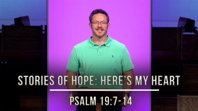 September 18, 2020 | Stories of Hope: Here's My Heart