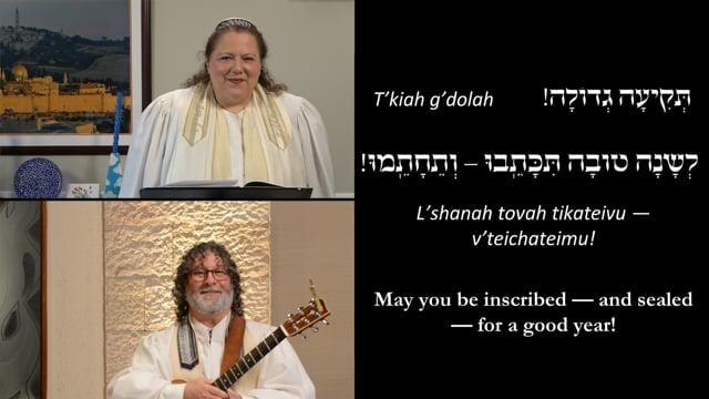 Rosh Hashanah Morning Services 09-19-2020
