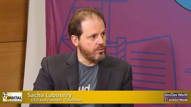 Sacha Labourey, CloudBees Founder and CEO , DevOps World - Jenkins World Lisbon 2019