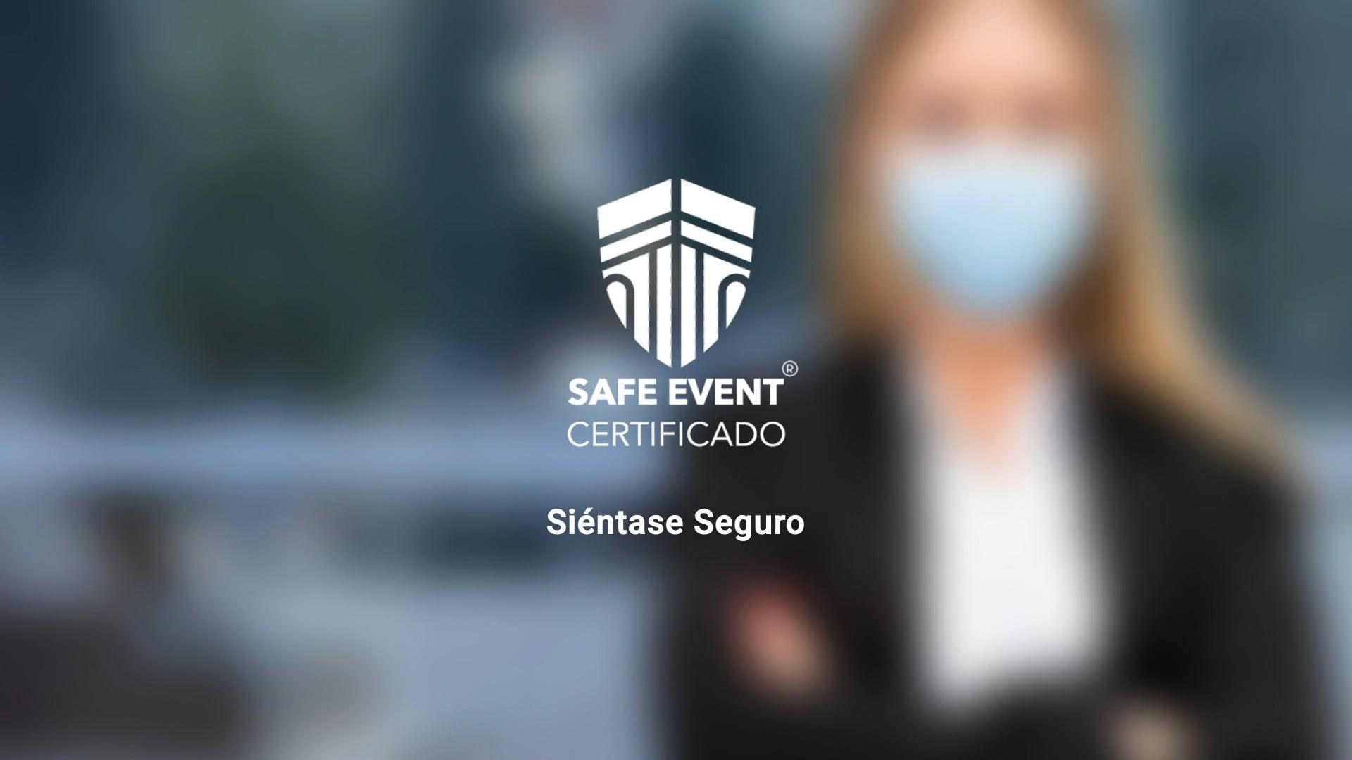 SAFE EVENT Certificado