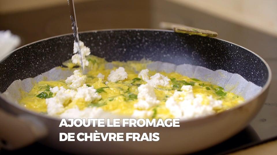 Cuisine avec nos Chefs - L'omelette