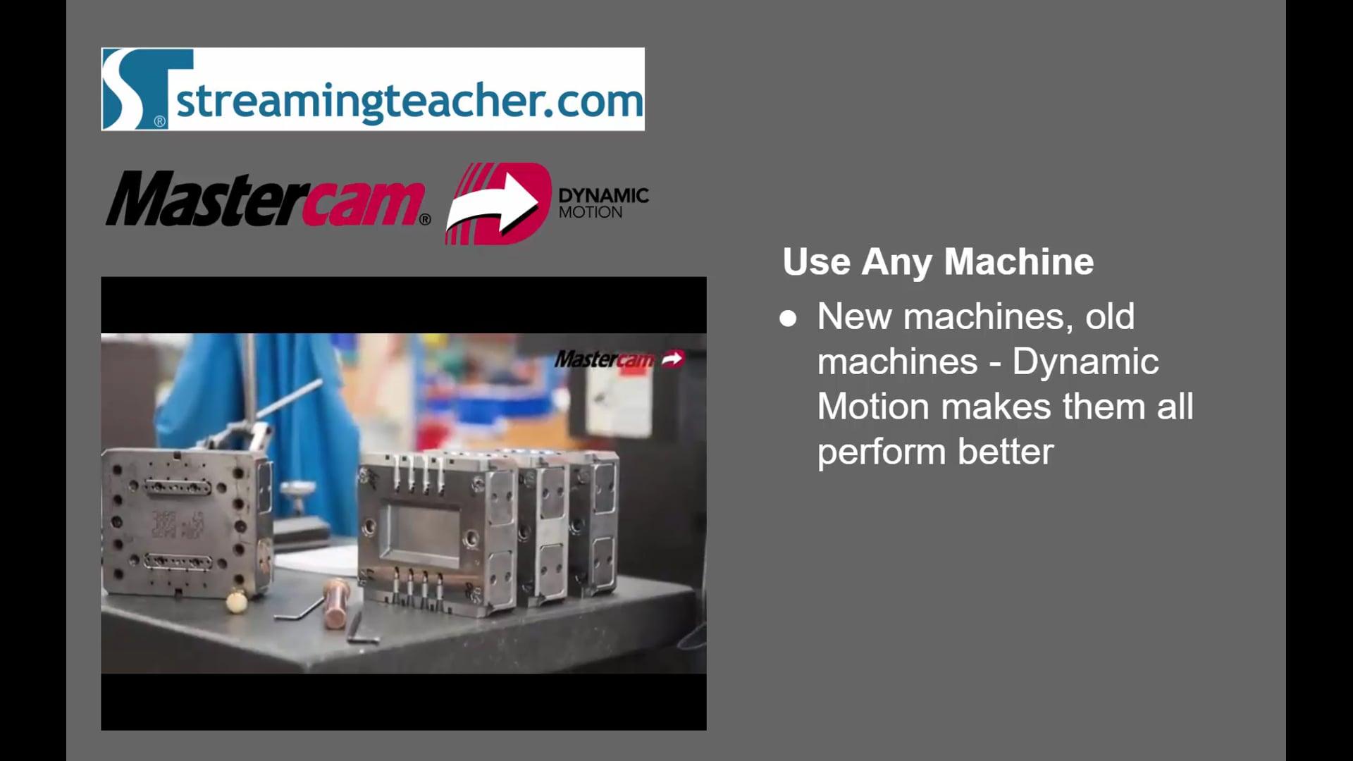 2D HST & Dynamic Toolpaths