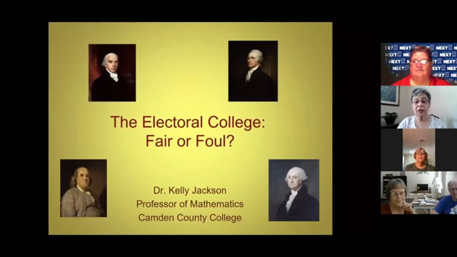 The Electoral College - Pathways, Fall 2020