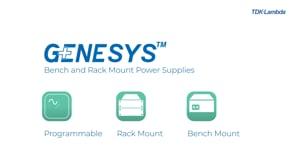 GENESYS+™ 5kW 1U programmable power supply video
