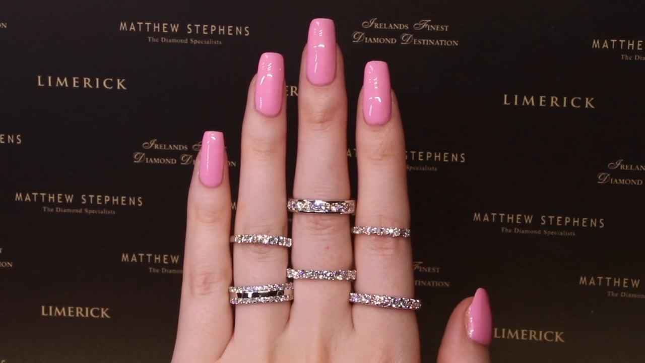 Diamond Eternity Rings from Ireland's Finest Diamond Destination