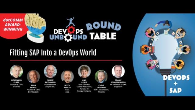 DevOps Unbound Roundtable 2 - Fitting SAP into a DevOps world