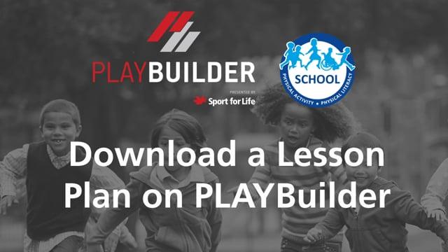 PLAYBuilder | Download a Lesson Plan on PLAYBuilder
