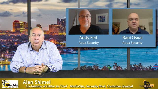 Rani Osnat and Andy Feit - TechStrong TV