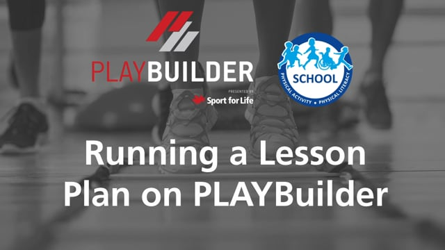 PLAYBuilder | Running a Lesson Plan on PLAYBuilder