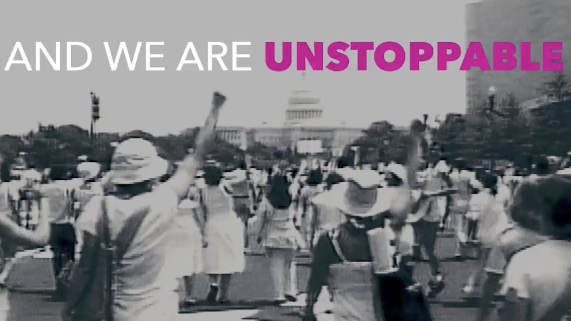 UNSTOPPABLE directed by @TiffanyShlain