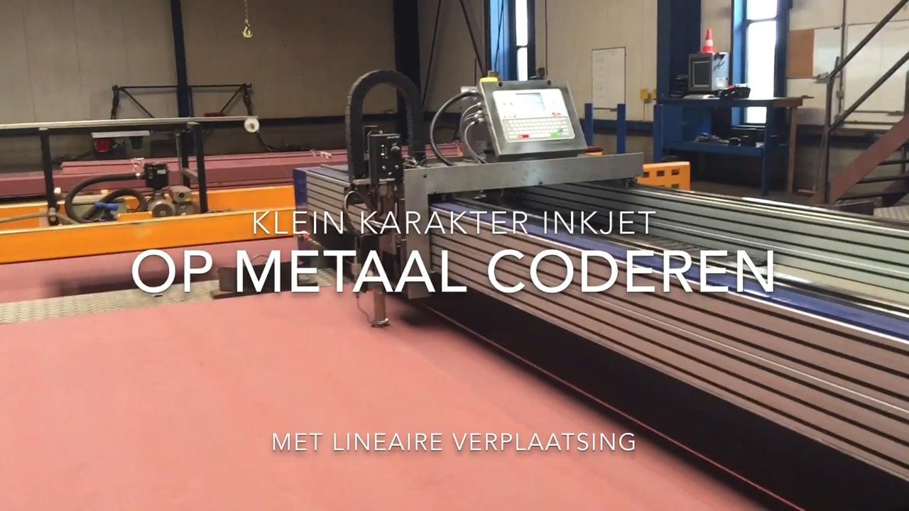 Citronix ci3500 | Metaal coderen