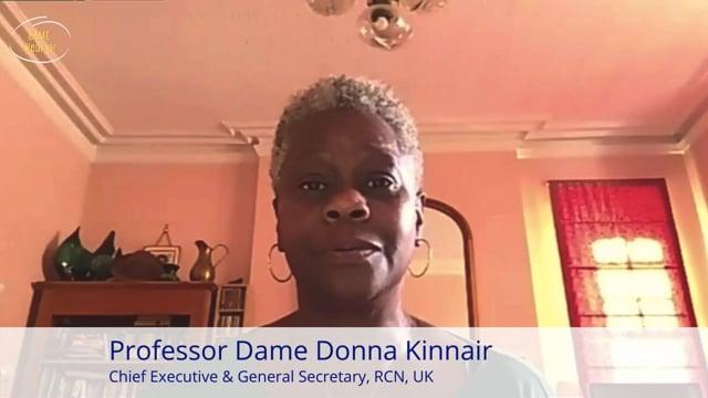 Professor Dame Donna Kinnair DBE - BAME Webinar