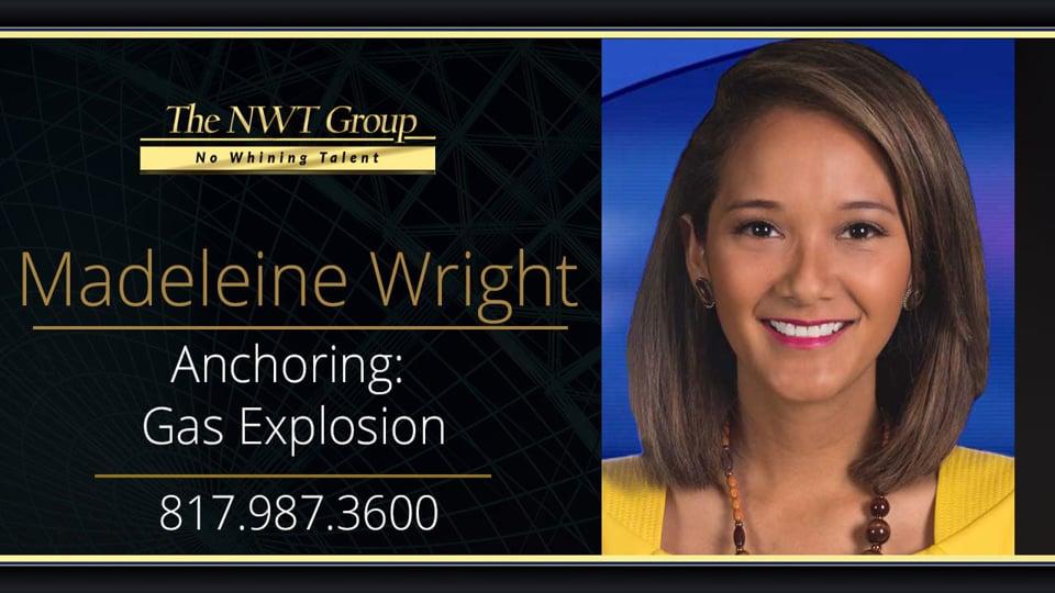 Anchor: Natural Gas Explosion
