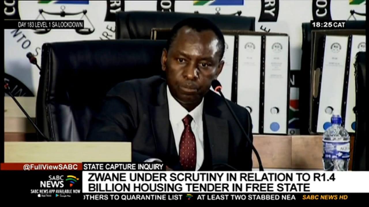 Mosebenzi Zwane is questioned over house scheme scandal