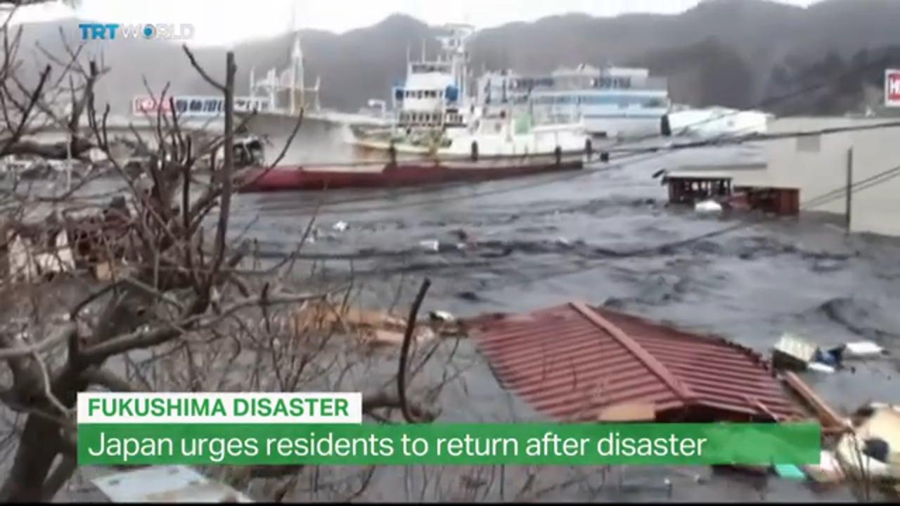 Rebuilding after Fukushima
