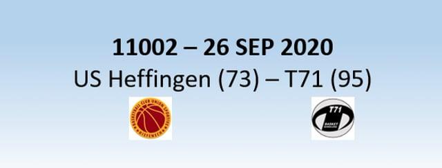 N1H US Heffingen (73) - T71 Diddeleng (95) 26/09/2020