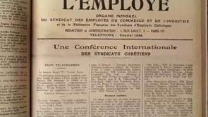 La CFTC, 100 ans de syndicalisme chrétien