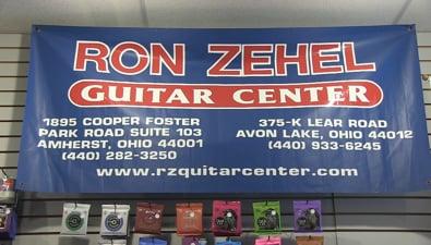 Thumbnail of video Avon Lake Business Spotlight: Ron Zehel Guitar Center