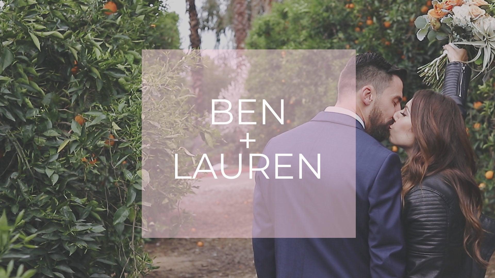 Ben + Lauren
