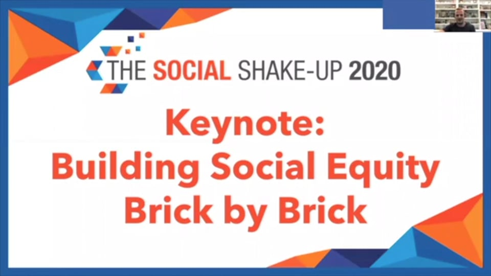 Keynote With LEGO's James Gregson: Building Social Equity Brick by Brick