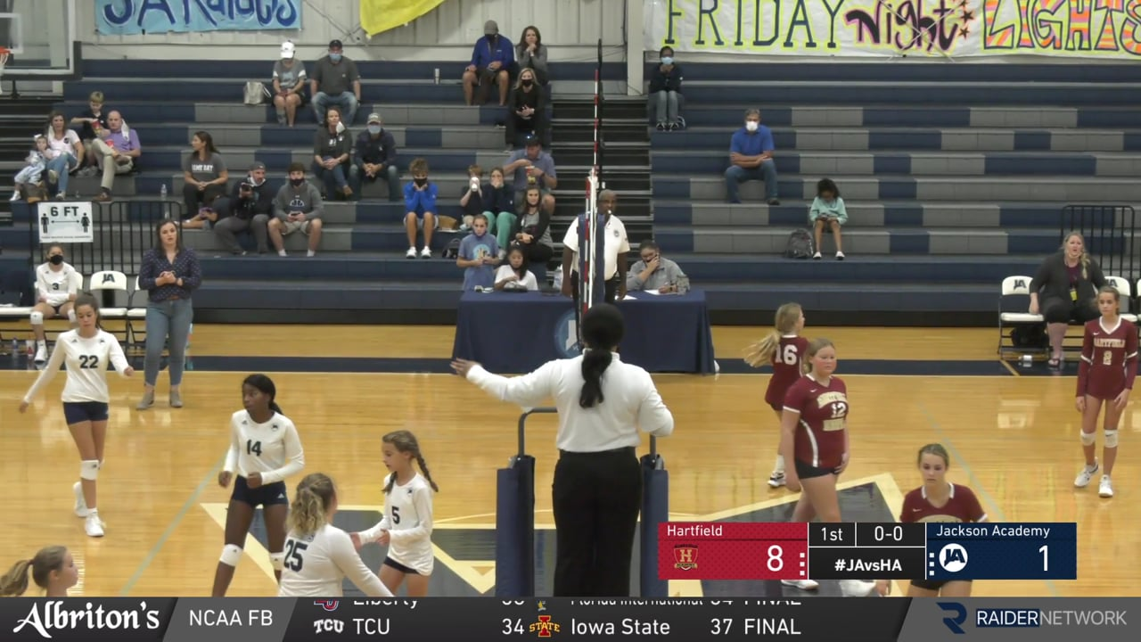 Middle School B Volleyball vs Hartfield - 09-28-20