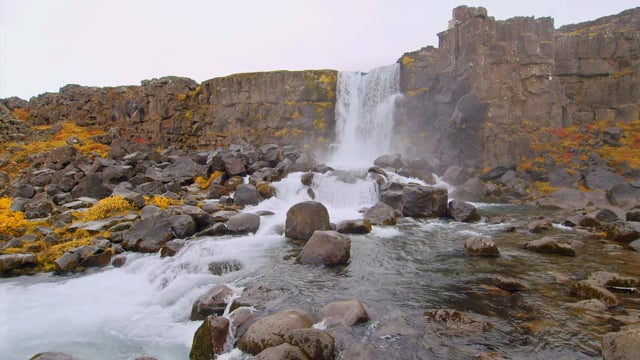 Breathtaking Waterfalls of Iceland. Part 1 - 4K HDR