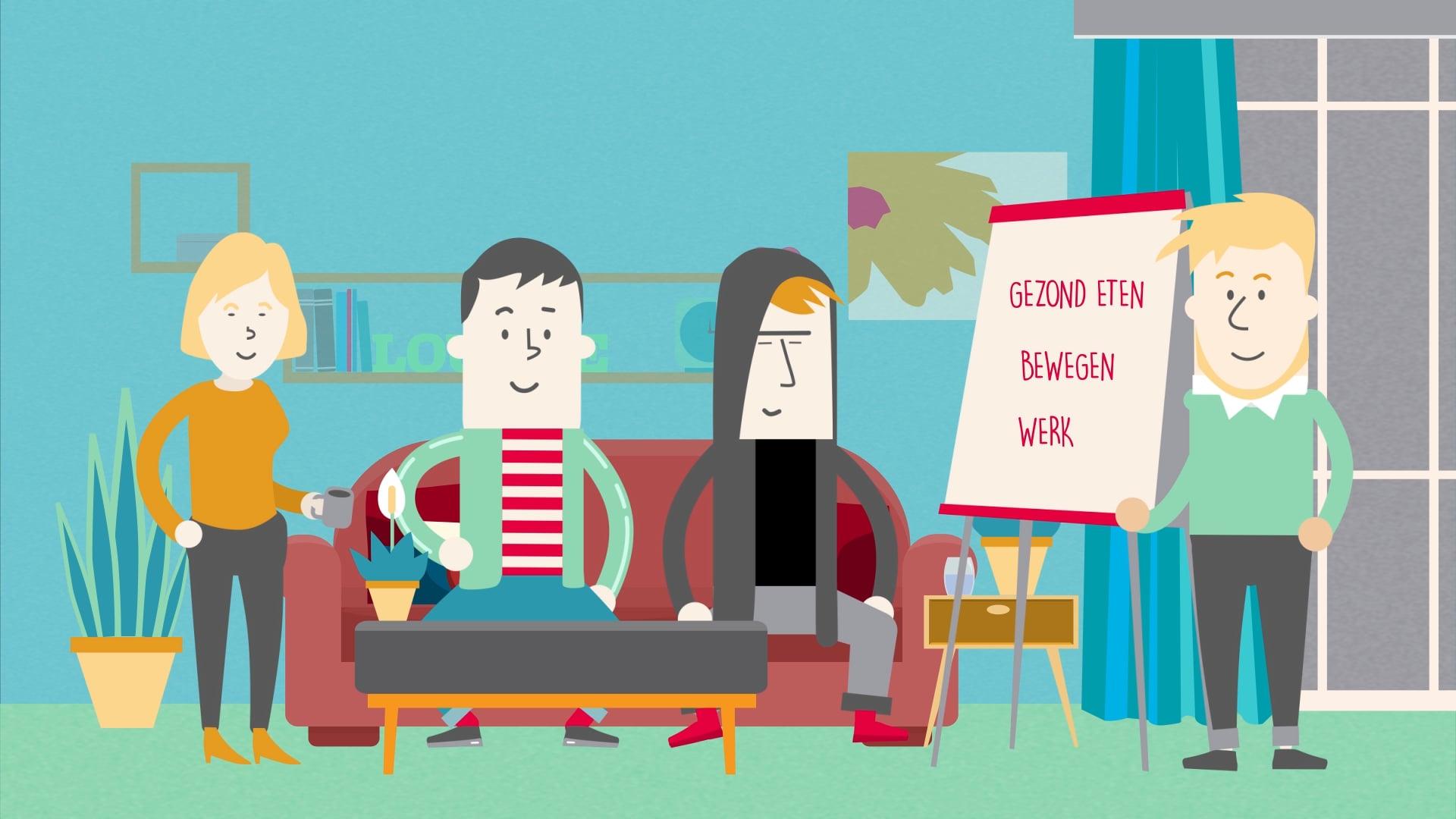 Healthy Solutions - KR8 programma animatie