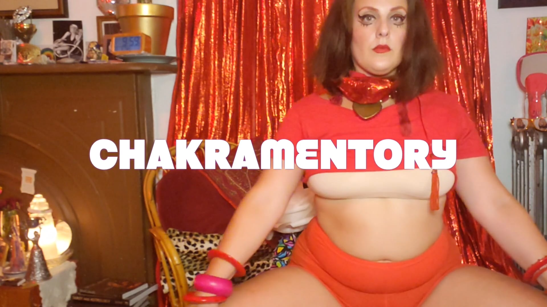 Year in Rainbow NEW WORK # 1: CHAKRAMENTORY EPISODE ONE RED