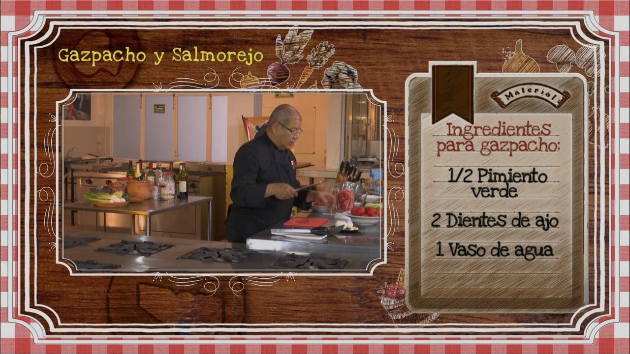 Gazpacho y Salmorejo