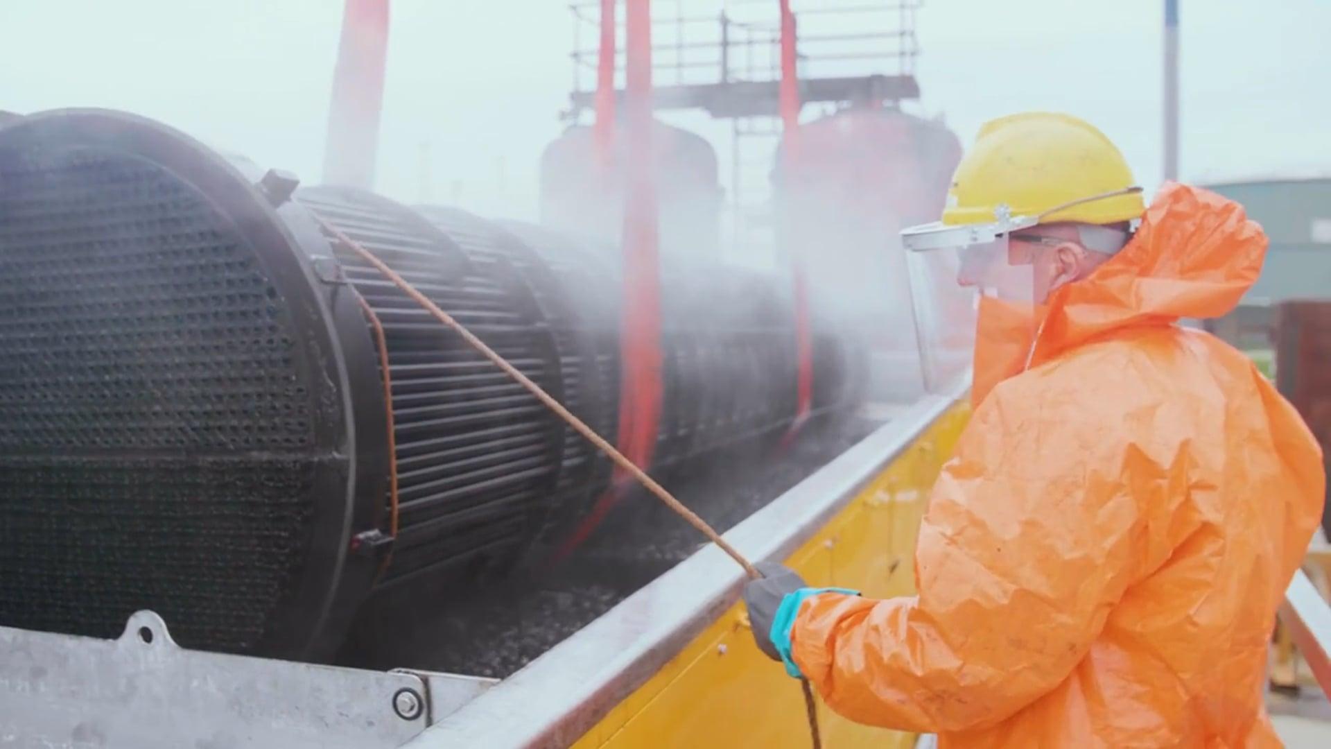 Mourik Industrie - Ultrasone Reiniging - innovatief warmtewisselaars schoonmaken
