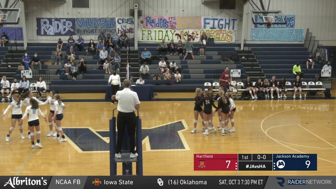 JV Volleyball vs Hartfield - 09-29-20