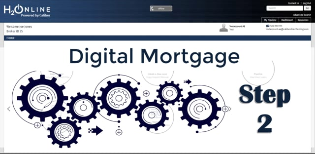 H2O Digital Mortgage VOA