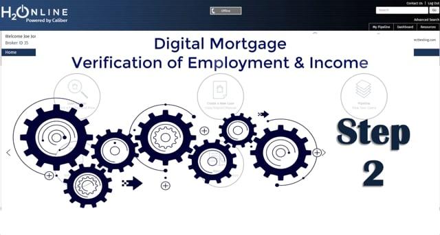 H2O Digital Mortgage VOE-VOI