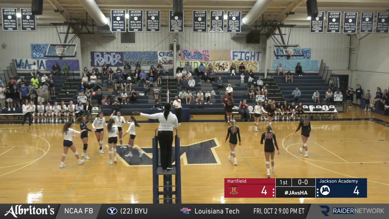 Varsity Volleyball vs Hartfield - 09-29-20