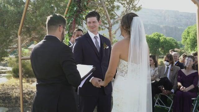 Brianna + Andrew Wedding Ceremony - Tiara Rado GC, Grd Jct CO_092620