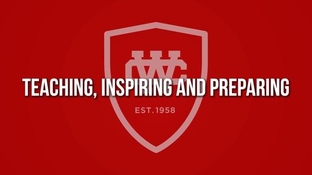 Teaching, Inspiring and Preparing